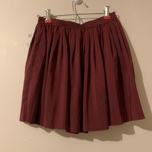 H&M pleated skater skirt size 10 GUC